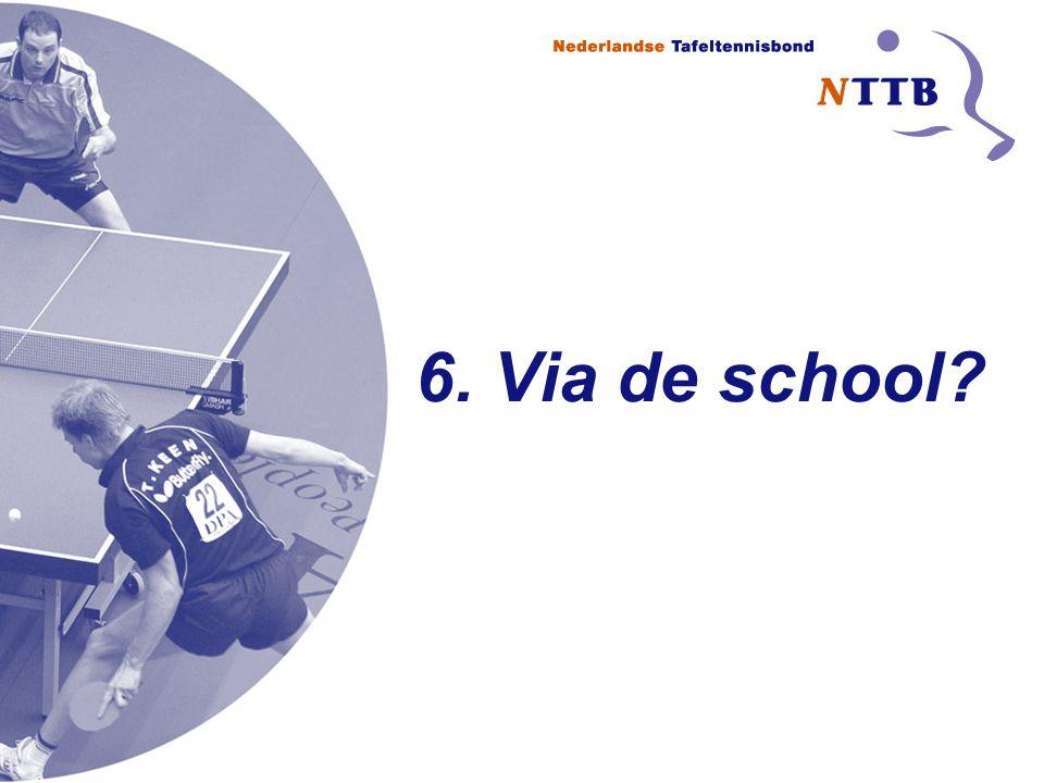 6. Via de school