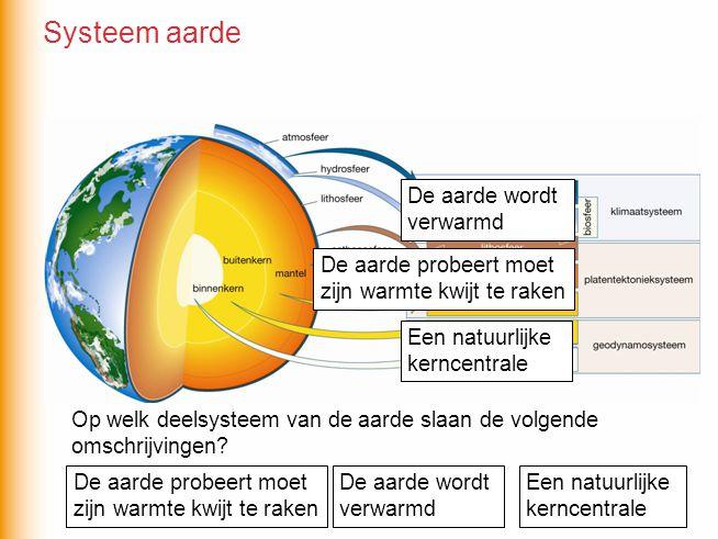 Er zijn verschillende kringlopen op aarde zoals de waterkringloop en de gesteentekringloop.