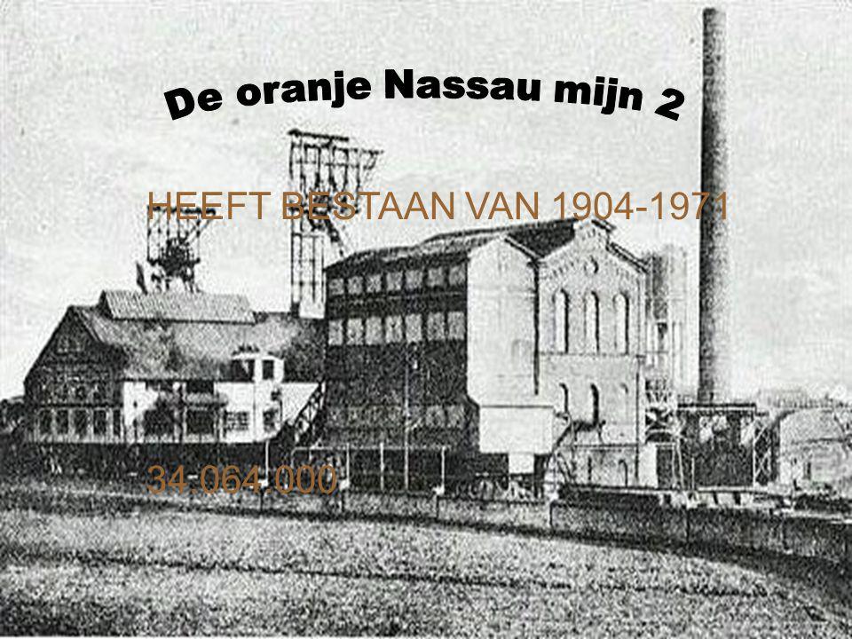 HEEFT BESTAAN VAN 1904-1971 34.064.000