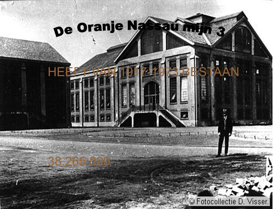 HEEFT VAN 1917-1973 BESTAAN 38.265.000