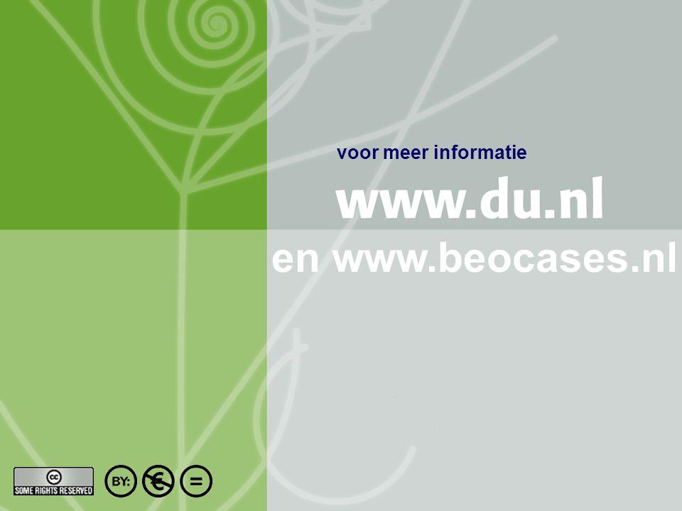 Titel auteur oktober 2004 14/10 voor meer informatie en www.beocases.nl