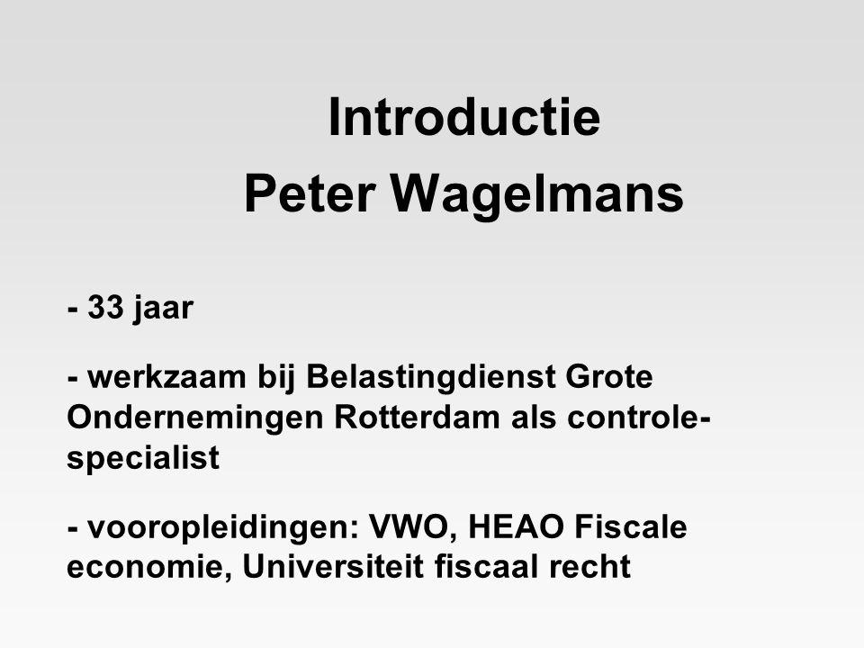 - 33 jaar - werkzaam bij Belastingdienst Grote Ondernemingen Rotterdam als controle- specialist - vooropleidingen: VWO, HEAO Fiscale economie, Univers