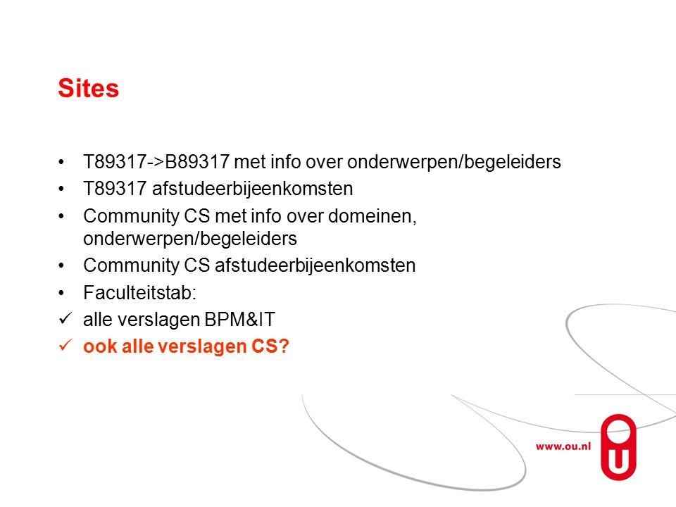 Aandachtspunten Aankondigen afstudeerpresentaties.