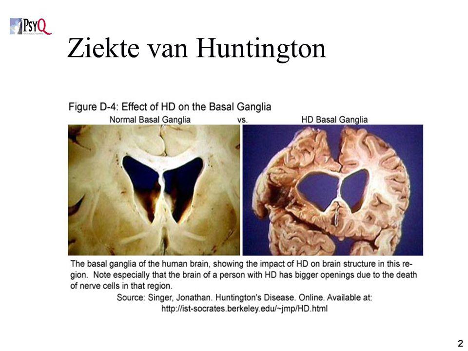 2 Ziekte van Huntington