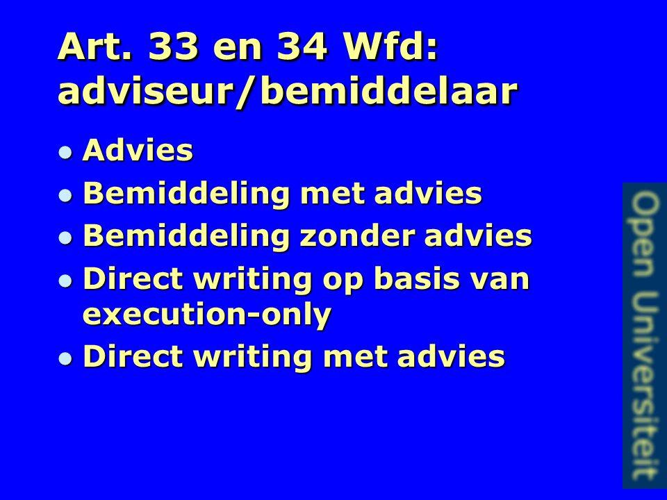 Artikel 31 lid 3 Wfd Informatie gedurende de looptijd van de overeenkomst Informatie gedurende de looptijd van de overeenkomst