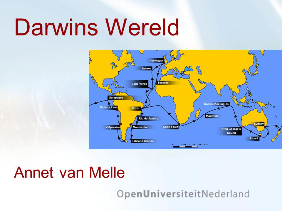 Darwins Wereld Annet van Melle