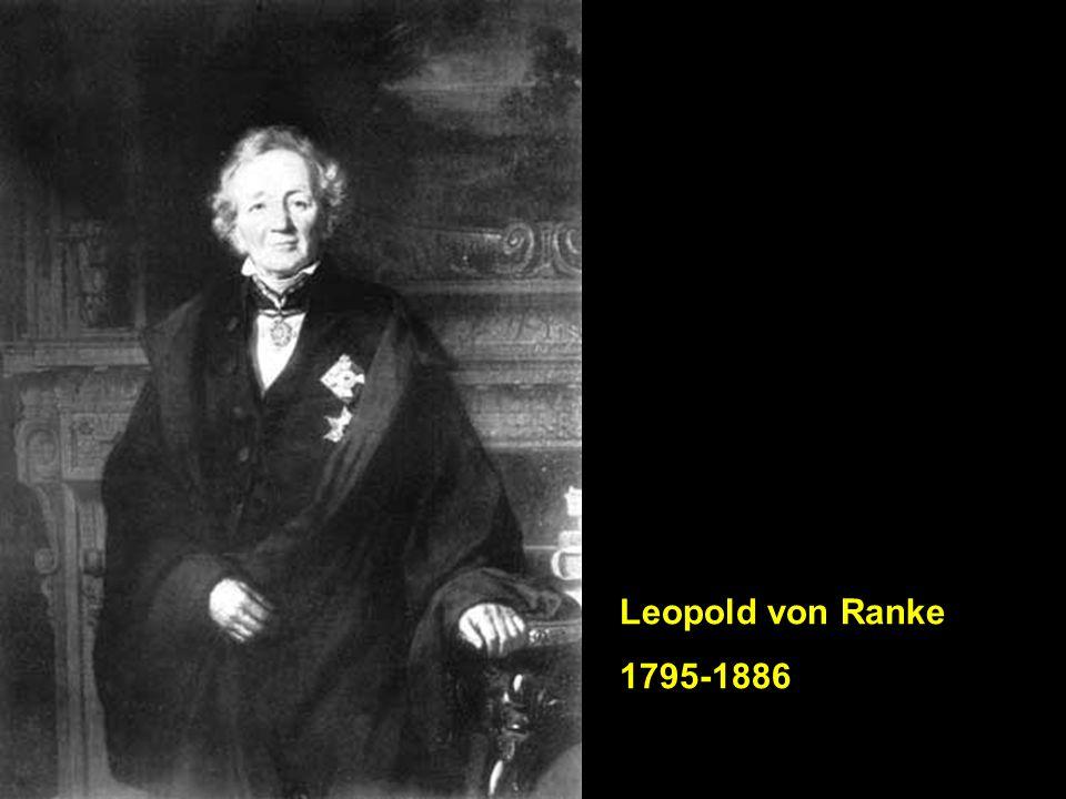 Leopold von Ranke 1795-1886