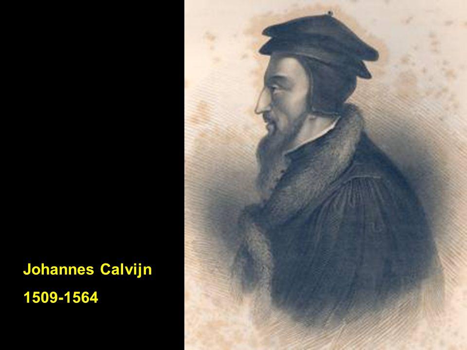 Johannes Calvijn 1509-1564