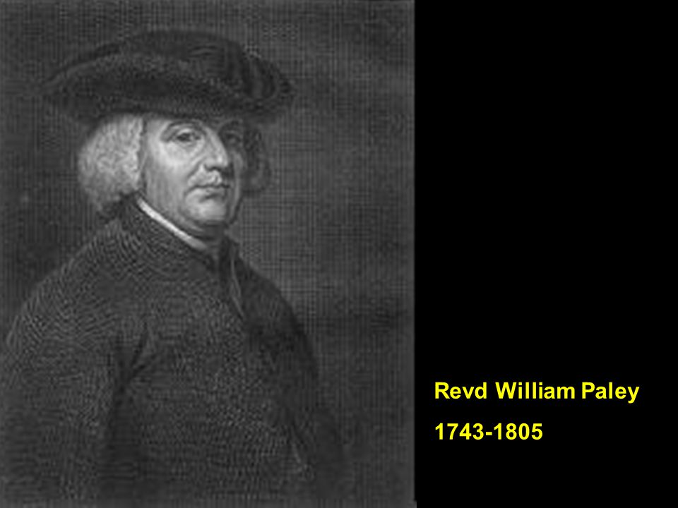 Revd William Paley 1743-1805