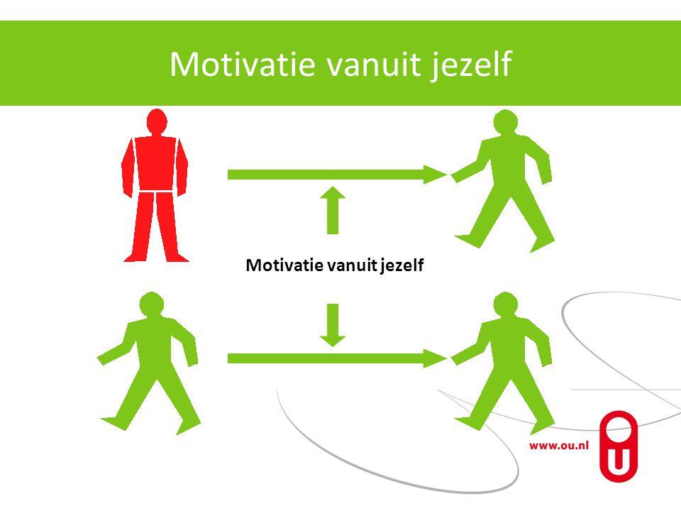 Motivatie vanuit jezelf