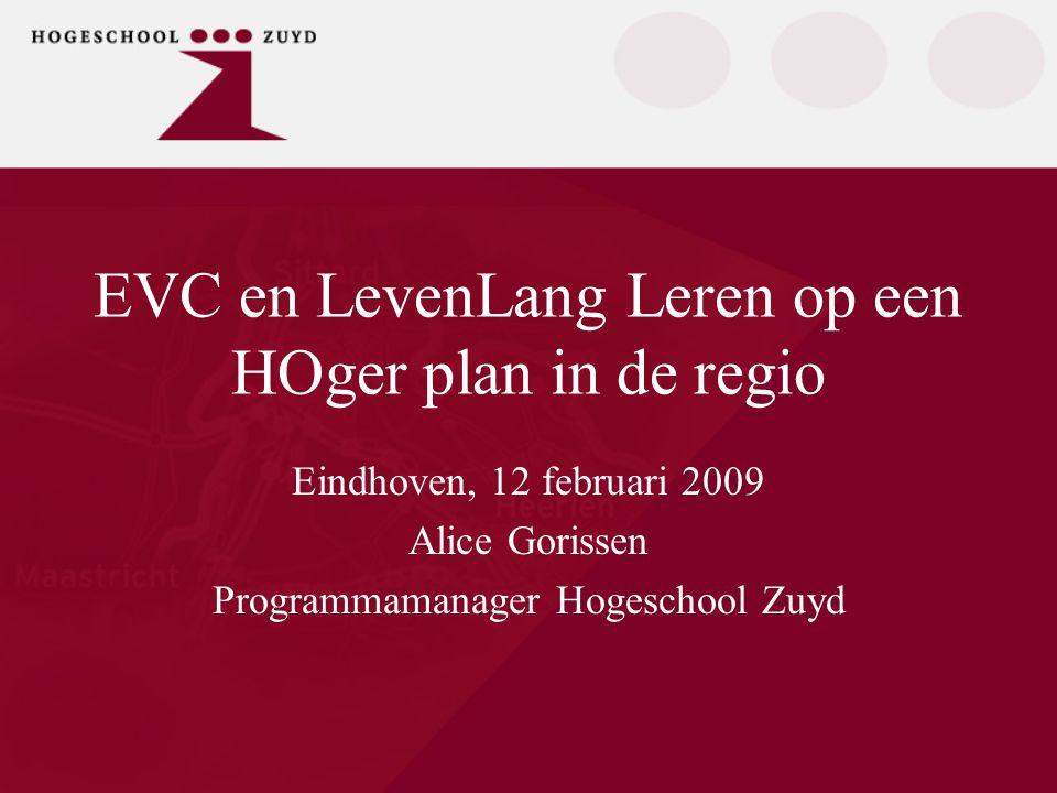 Punten van aandacht:  Provincie Limburg en Gemeenten  Hogeschool Zuyd  Innovatie als strategisch proces  Samenwerken in de regio  Ervaringen  Opbrengsten  Valkuilen