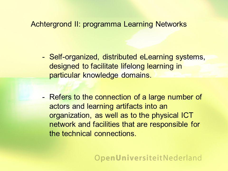 Learning Network Goal