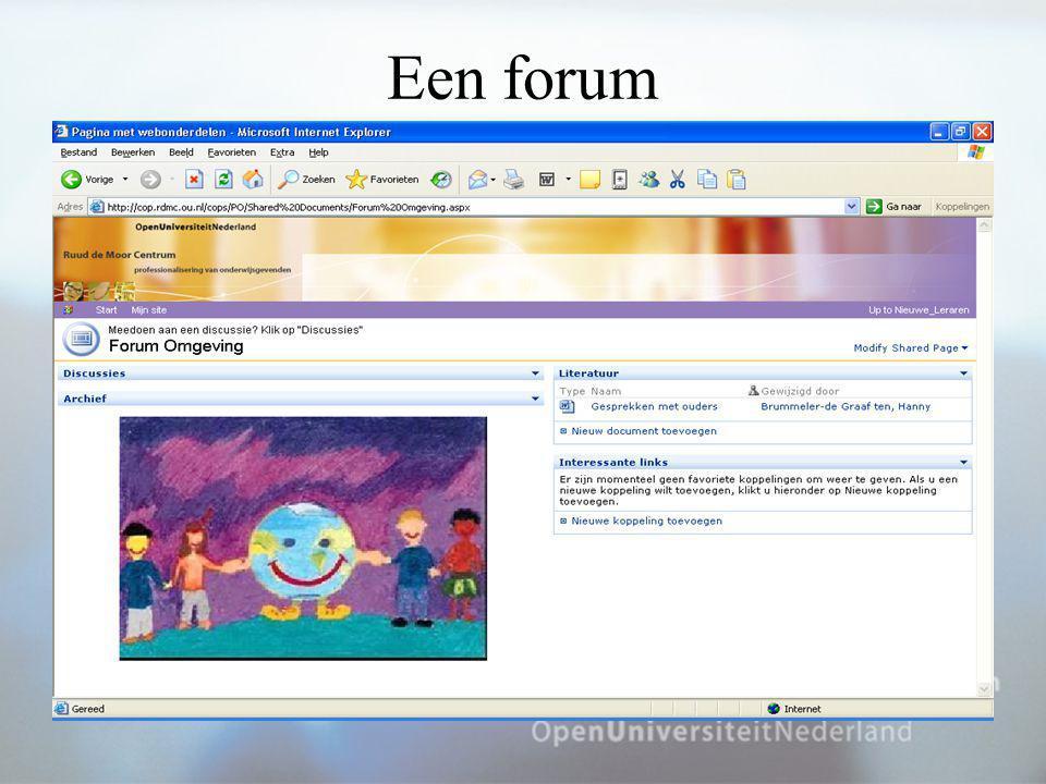 Een forum