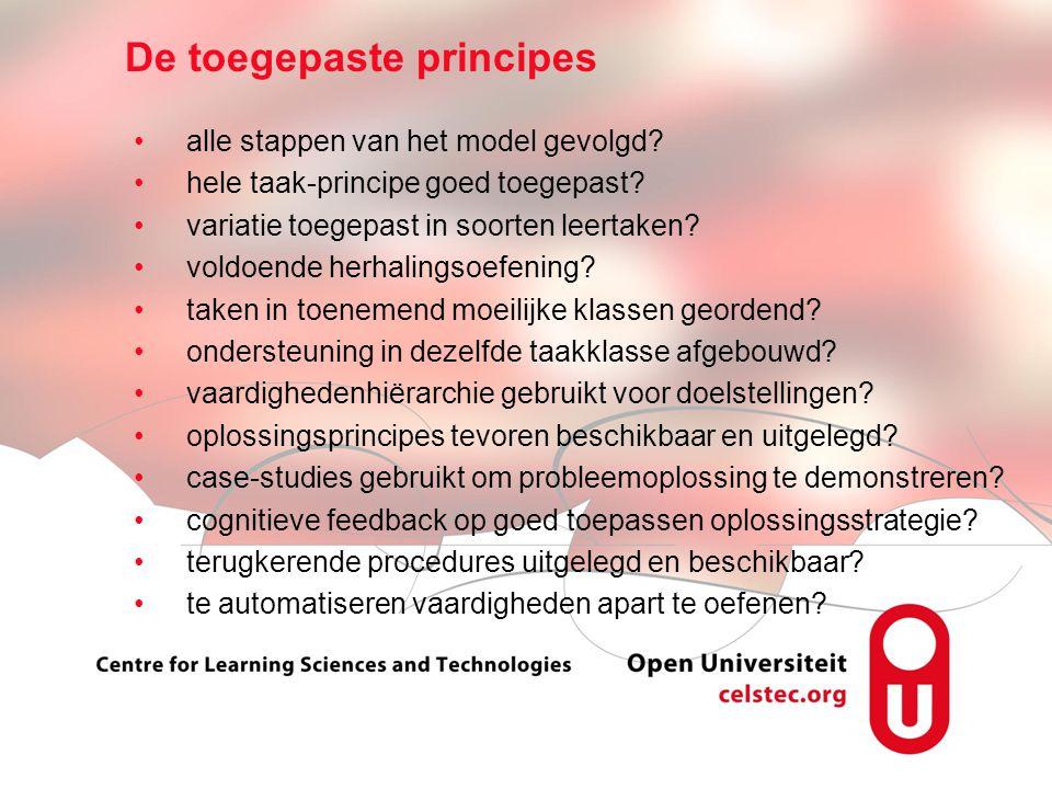 Visionen für die Betriebliche Weiterbildung page 7 alle stappen van het model gevolgd.