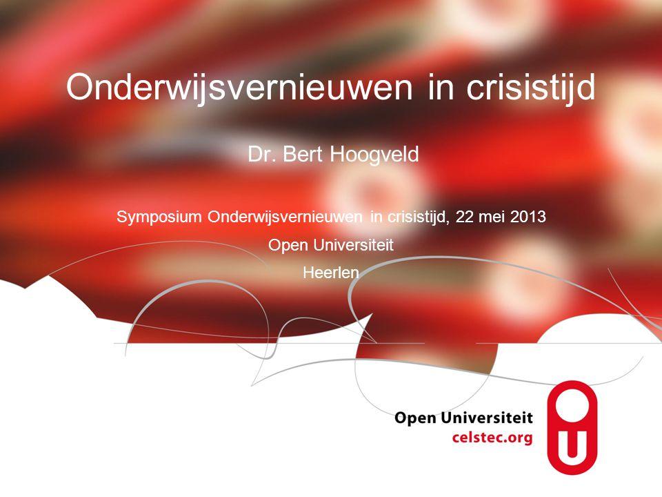 Visionen für die Betriebliche Weiterbildung page 1 Onderwijsvernieuwen in crisistijd Dr.
