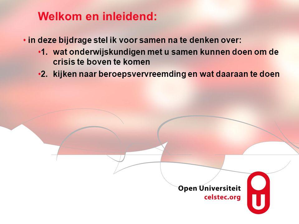 Visionen für die Betriebliche Weiterbildung page 13 Crisisgebonden problemen: voorbeelden http://www.decorrespondent.nl http://www.youtube.com/watch?feature =player_embedded&v=264NE1vG1n0