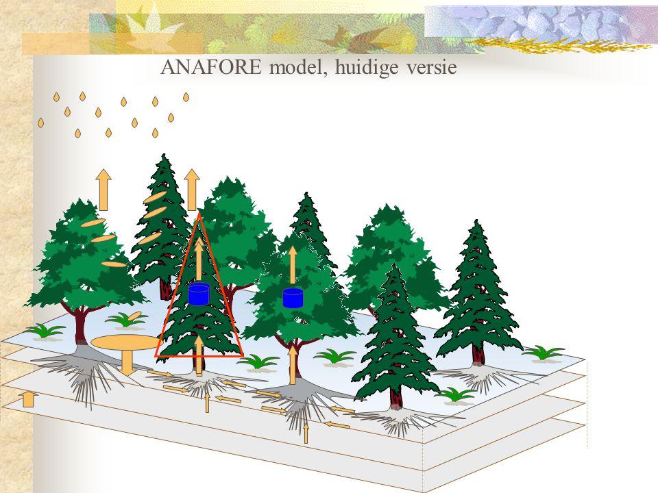 ANAFORE model, huidige versie