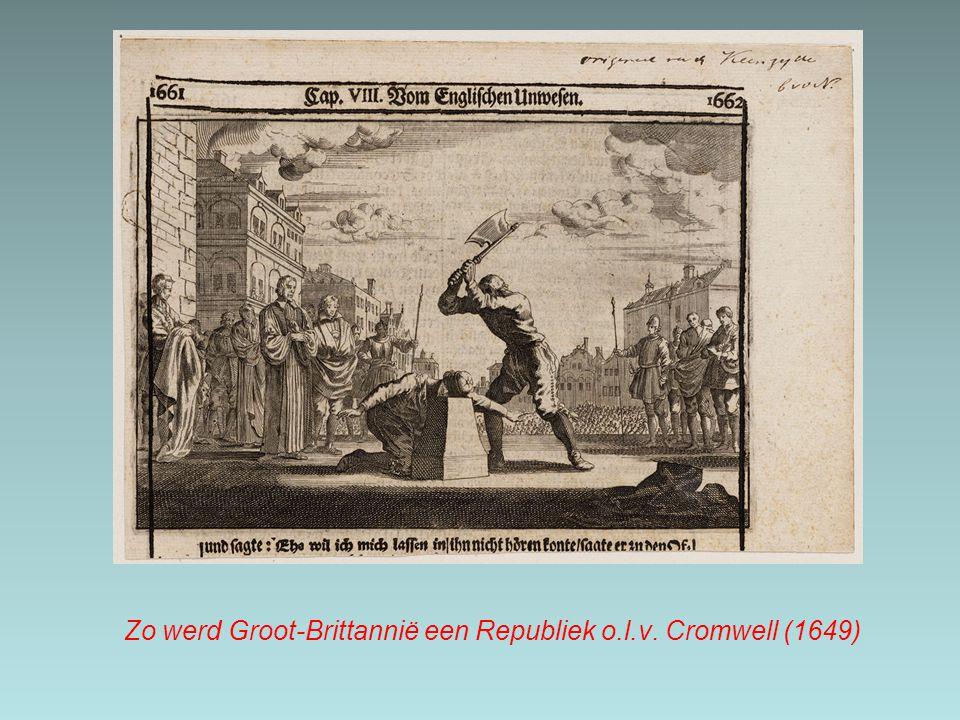 Zo werd Groot-Brittannië een Republiek o.l.v. Cromwell (1649)