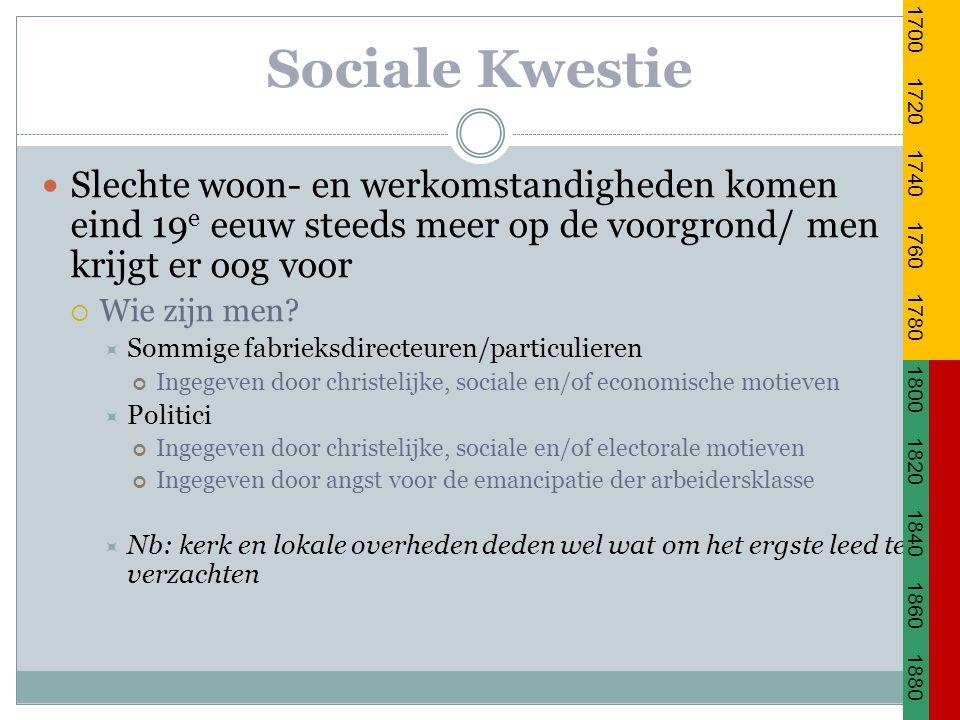 Sociale Kwestie Wat moet er dan veranderen.