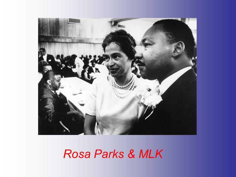 Rosa Parks & MLK