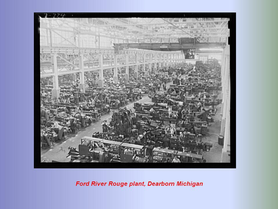Ford River Rouge plant, Dearborn Michigan