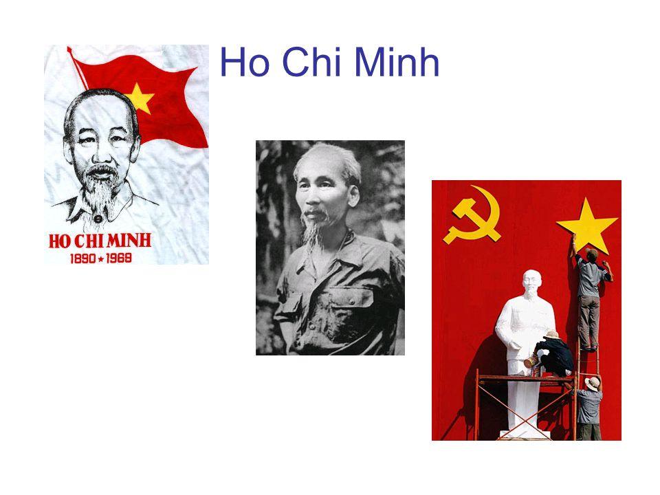 Vietnam tot 1954 - Frankrijk Gelijk na de capitulatie van de Japanners ontstaat er een strijd tussen het moederland en Ho Chin Minhs troepen –Frankrijk wil haar kolonie terug –VS en SU houden zich afzijdig Uiteindelijk werden de Fransen bij Dien Bien Pho in de pan gehakt –Maar dit vergrootte het conflict alleen maar!