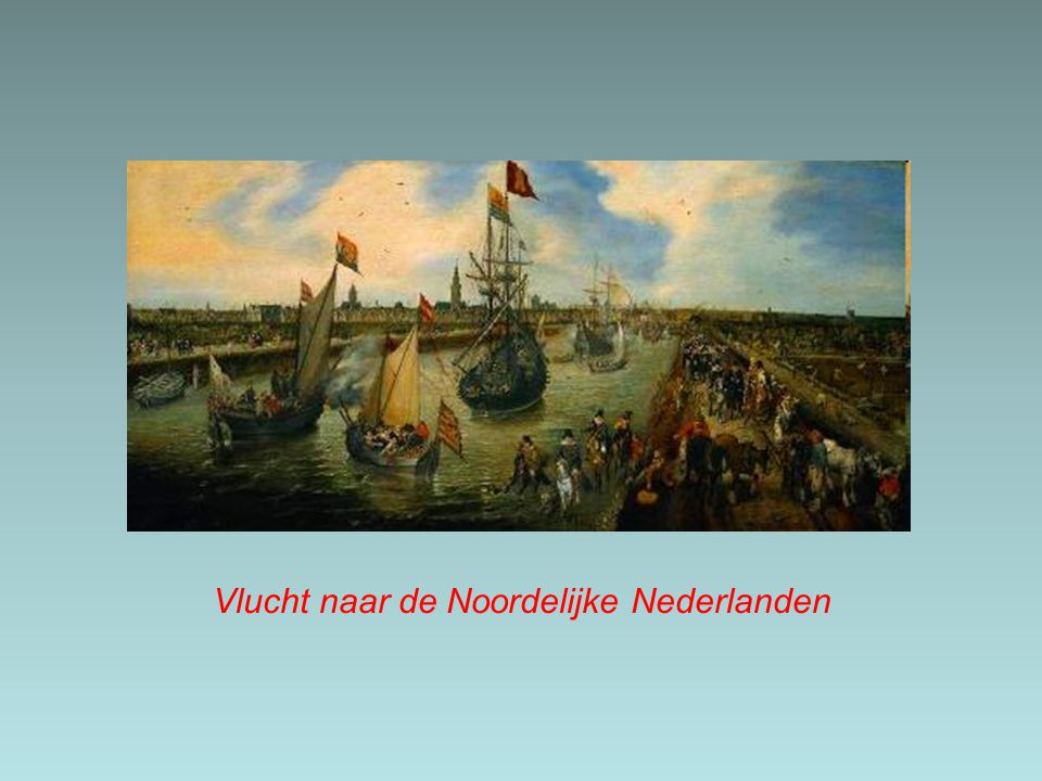 Vlucht naar de Noordelijke Nederlanden
