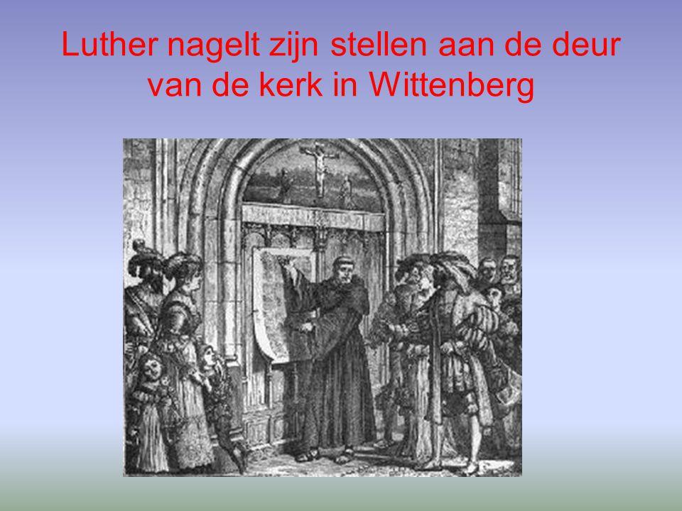 1.3 Karel V en de Reformatie Reformatie in Duitsland –Luthers ideeën en prediken leidde in Duitsland tot Boerenopstanden o.l.v.