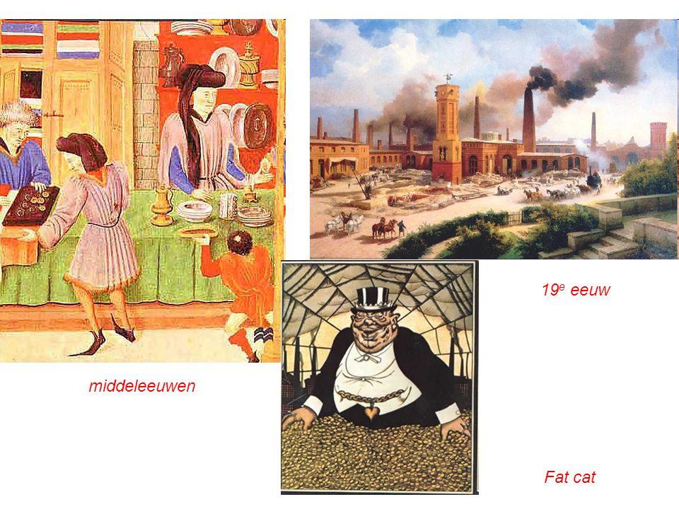 middeleeuwen 19 e eeuw Fat cat