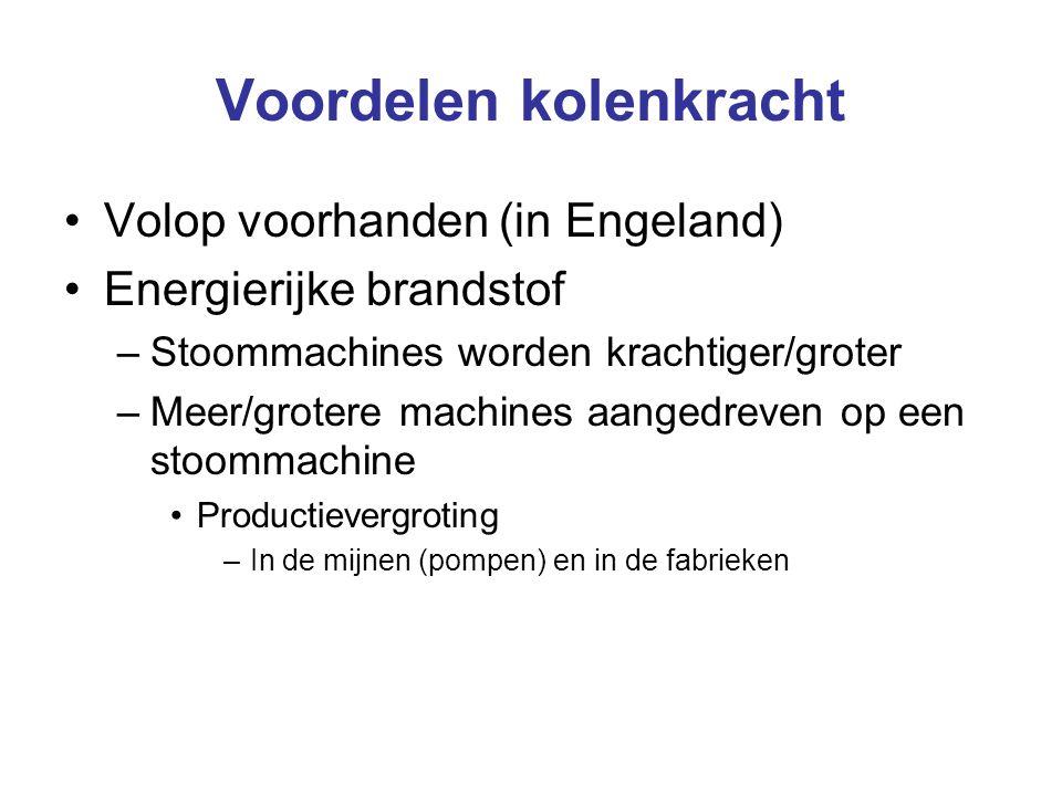 Veranderingen in natuurgebruik - Elektriciteit Siemens vindt in 1866 de dynamo uit ► –Met water- stoomkracht kan men elektriciteit opwekken Grote voordelen –Energie voor nieuwe apparaten De gloeilamp De telegraaf Elektromotoren