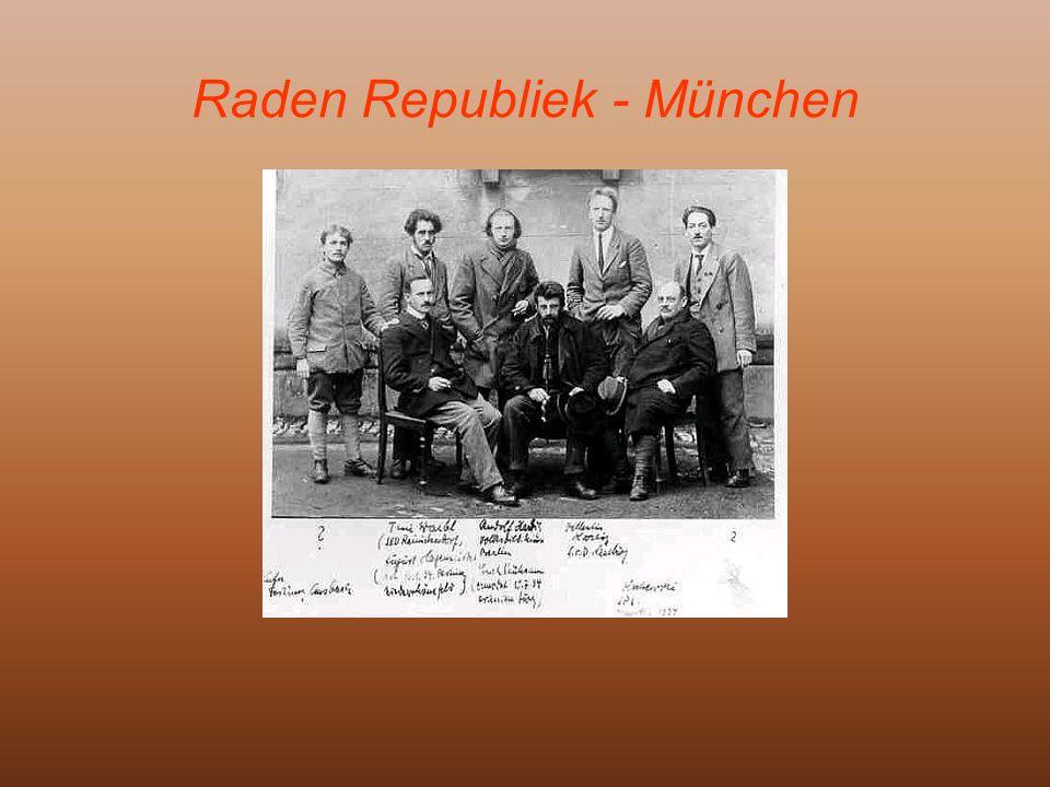 Raden Republiek- München