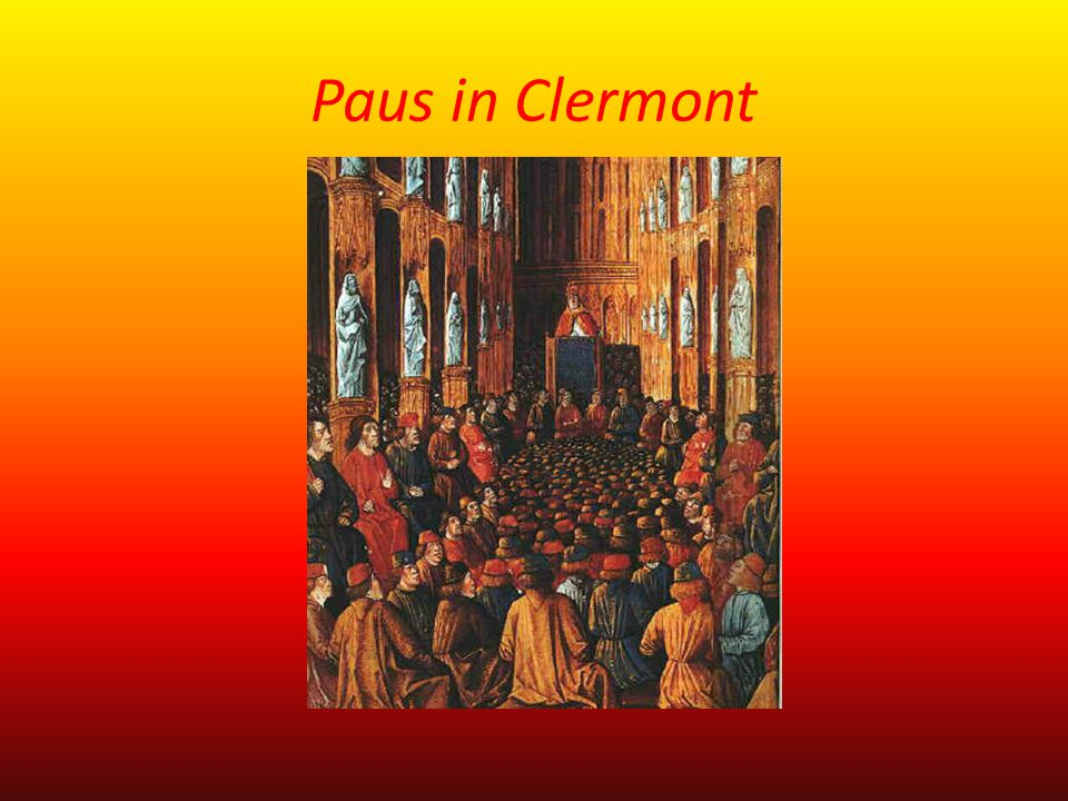 Paus in Clermont