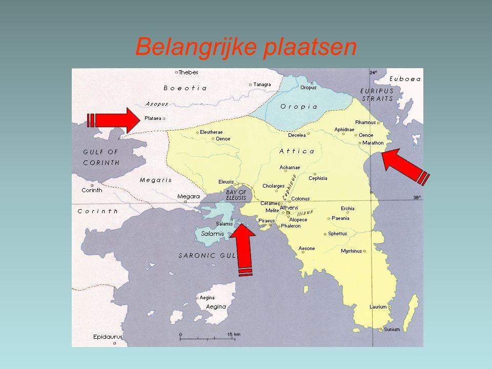 Verdere samenwerking Grieken.De perzen waren verslagen maar hun dreiging bleef.