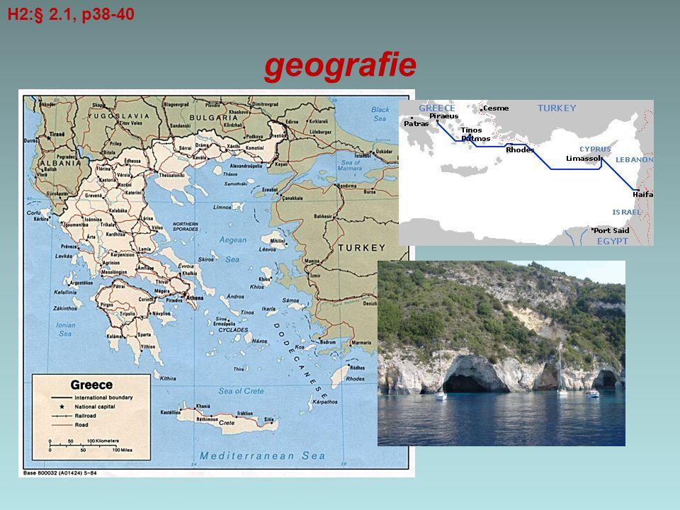 geografie H2:§ 2.1, p38-40