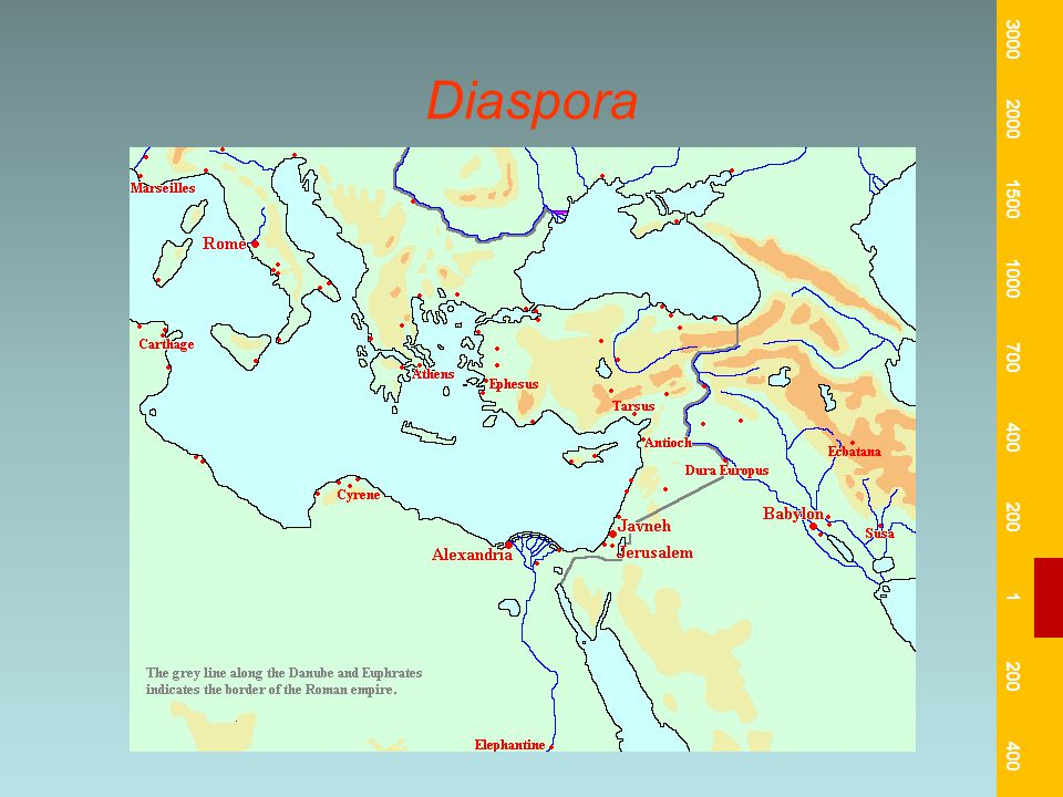 Diaspora 3000 2000 1500 1000 700 400 200 1 400