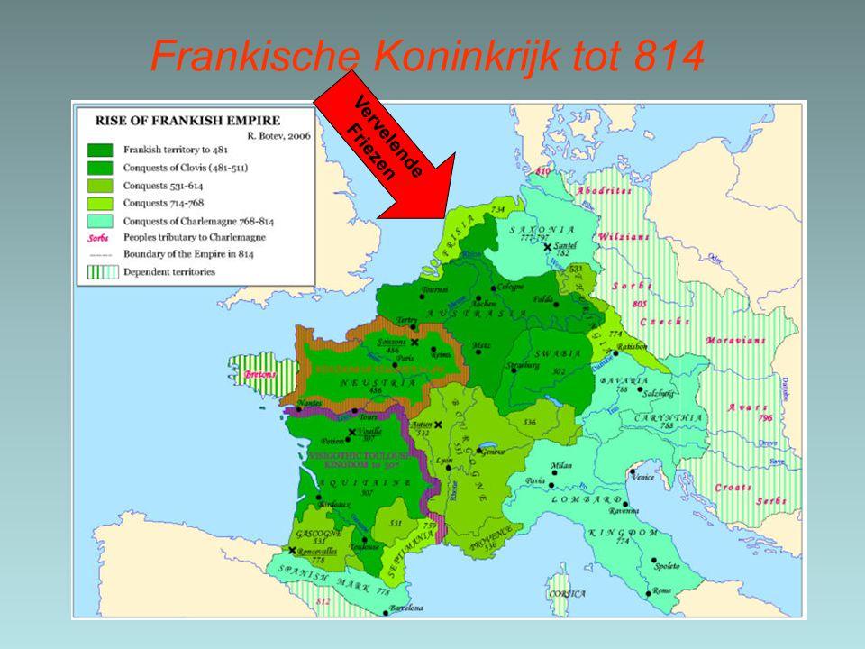Frankische Koninkrijk tot 814 Vervelende Friezen