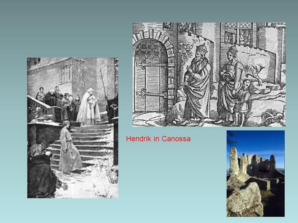 Hendrik in Canossa
