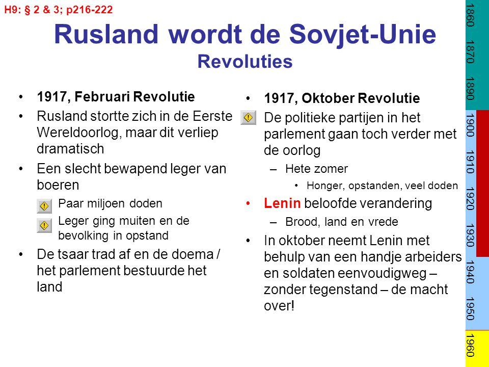 Duitsland in crisis: Problemen voor de jonge republiek Binnenlands Staatsgreep 1920 –Extreemrechts –Mislukt Doordat arbeiders in het hele land achter de regering gingen staan.