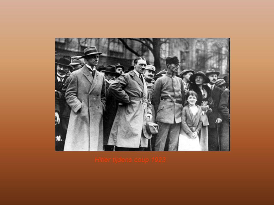 Aanhang groeit Vanaf 1924 leek het beter te gaan in Duitsland –De radicale (rechts en links) partijen zagen hierdoor hun aanhang slinken –Tevens tekende de regering het Verdrag van Locarno Erkenning van de Westgrenzen en herstel van de relaties met Frankrijk en later ook met haar Oosterburen (na erkennen van de Oostgrenzen) (zie dia)zie dia –De groeide welvaart was echter schijn; de economie draaide op geleend geld.