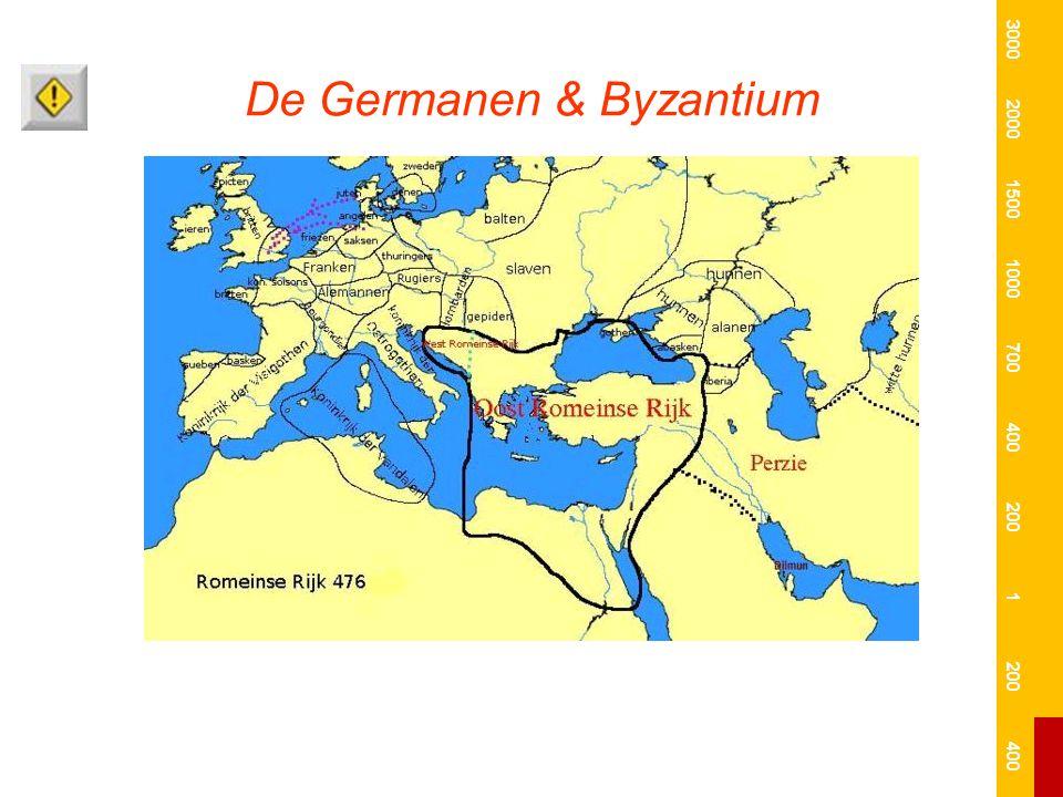 De Germanen & Byzantium 3000 2000 1500 1000 700 400 200 1 400