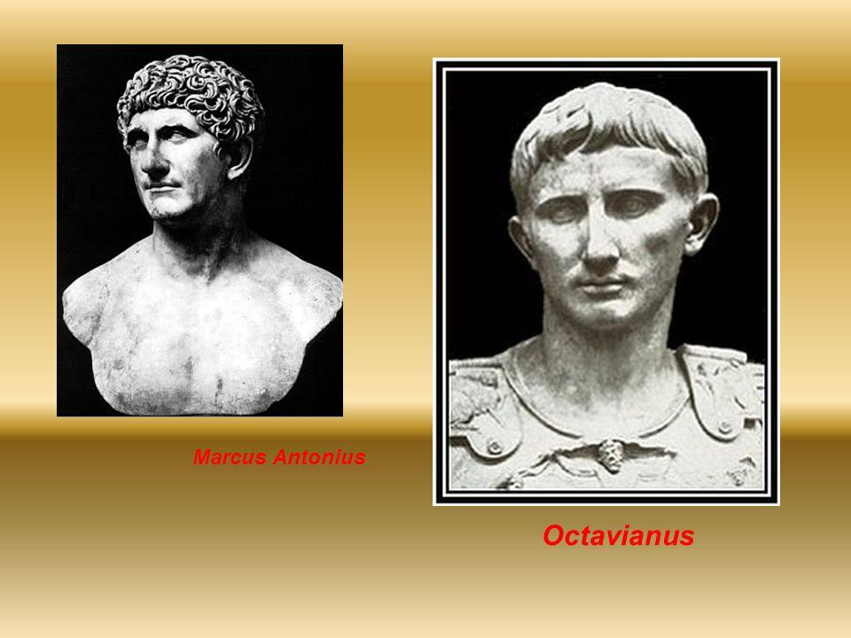 Octavianus - De bestuurder Hoe vormde Octavianus zijn machtsbasis –Het leger wist hij aan zich te binden / achter zich.