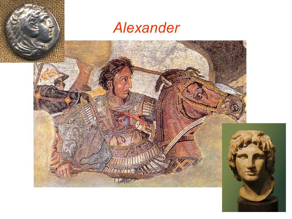 Ontstaan van het Hellenisme Alexander veroverde het gehele Midden-Oosten, Perzië, een deel van Pakistan en Afghanistan.