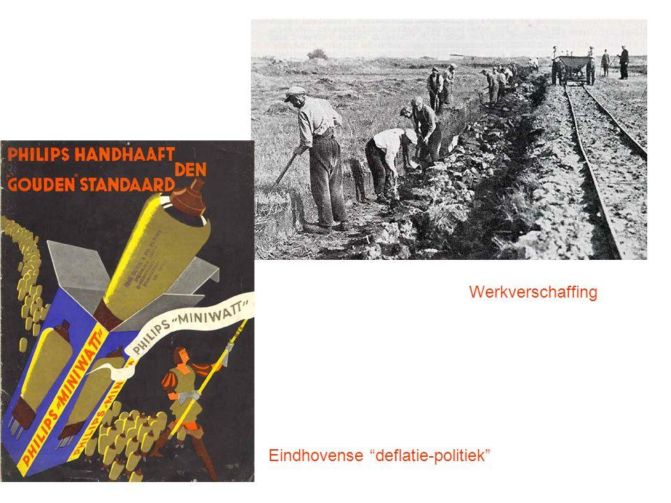 """Werkverschaffing Eindhovense """"deflatie-politiek"""""""