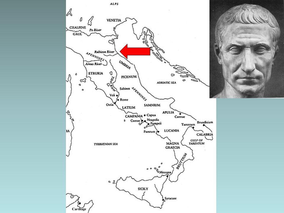 De Romeinse Vrede (Pax Romana) Onder Augustus wordt Rome weer welvarend –Enkele eeuwen rust door Goede voorzieningen voor militairen Minder macht bij de legeraanvoerders > trouw aan de keizer Economie bloeit door de rust als nooit tevoren –Meer handel dan ooit –Nieuwe steden schoten uit de grond De oude vijanden zijn verslagen