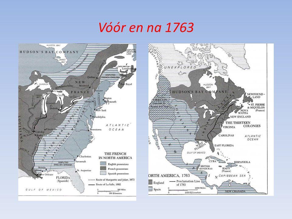 Vóór en na 1763