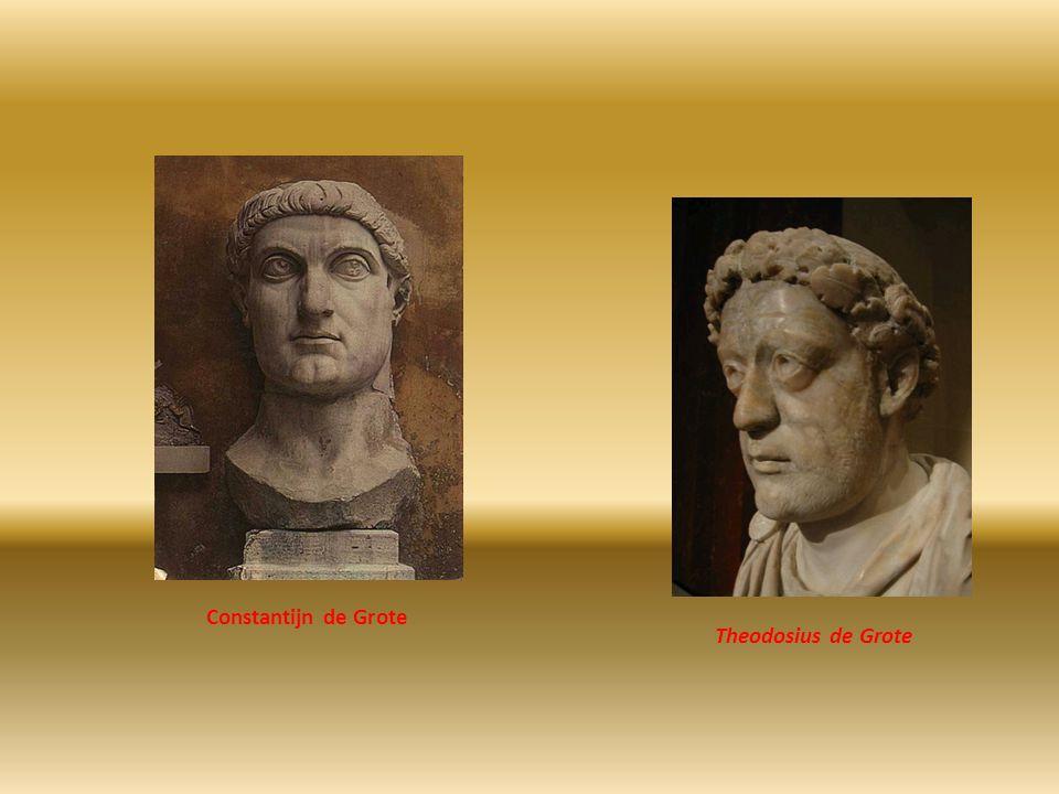 Theodosius de Grote Constantijn de Grote