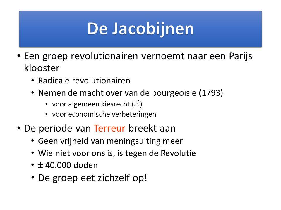 St Jacobusklooster Maximilien de Robespierre, 1758 - 1794