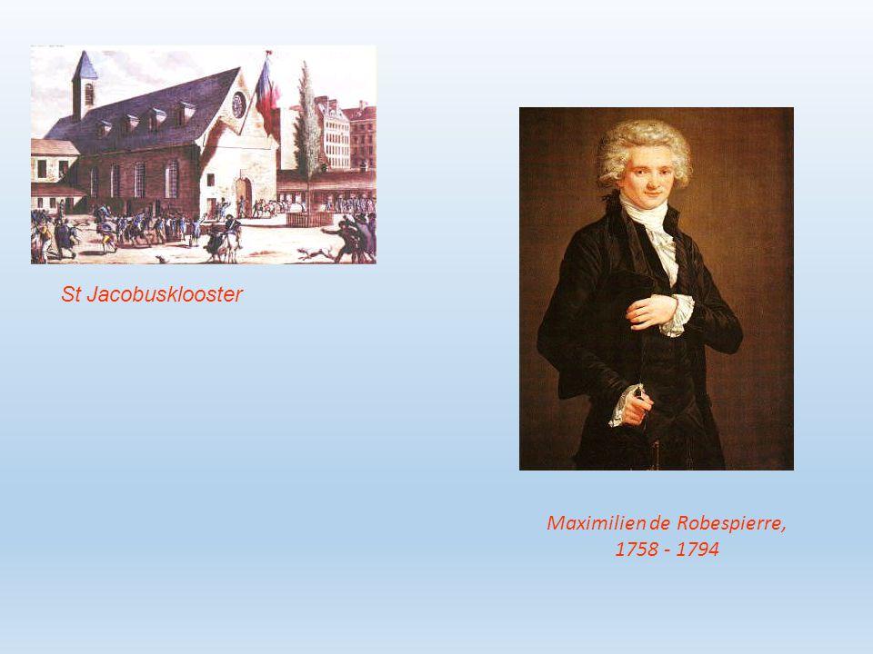 Het volk is de radicalen / de Jacobijnen zat 5 directeuren nemen het bestuur over, vanaf 1794 Alleen de rijken kiesrecht.