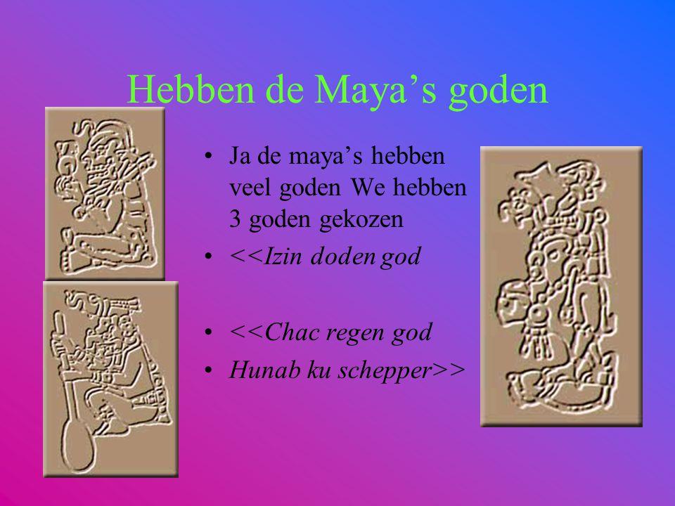 Waar wonen de Maya's? De maya's woonden in Midden Amerika