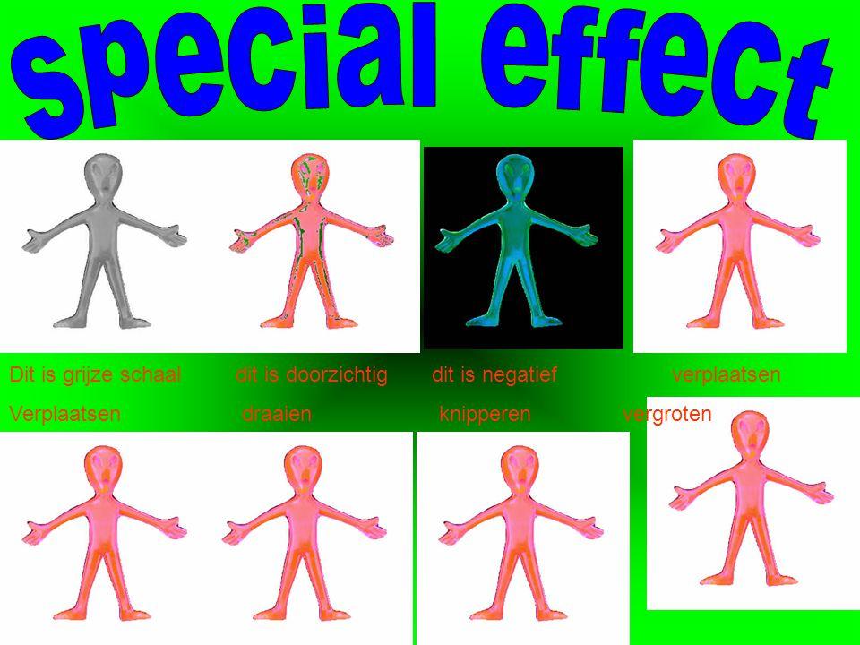 Hoe maak je special effect met PowerPoint. Ik leg het uit met plaatjes.